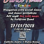 Hungarian folk dance event