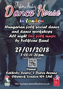 Hungarian folk dance event