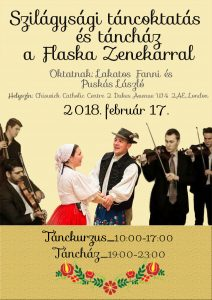 Hungarian folk dance workshop and evening tanchaz with special guests from Hungary only this weekend in London