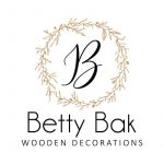 Betty Bak wooden decoration