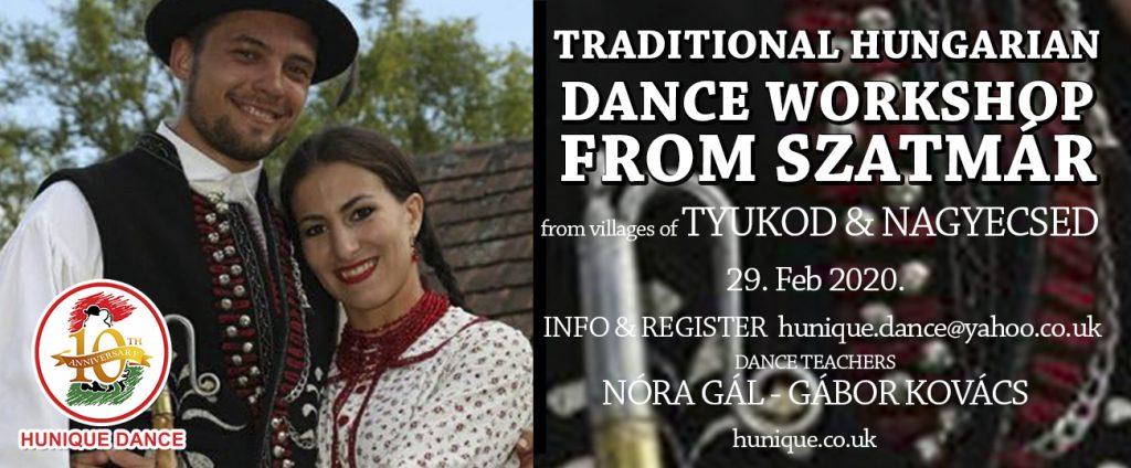 Hungarian folk dance workshop szatmár 2020